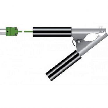 Sonda tipo pinza para tubos de Ø6 a Ø30mm