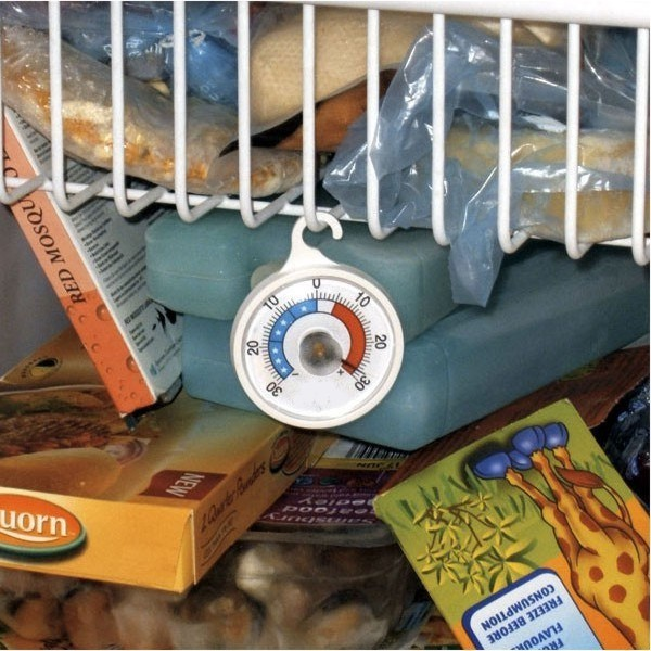 Termómetro analógico para neveras y frigorificos