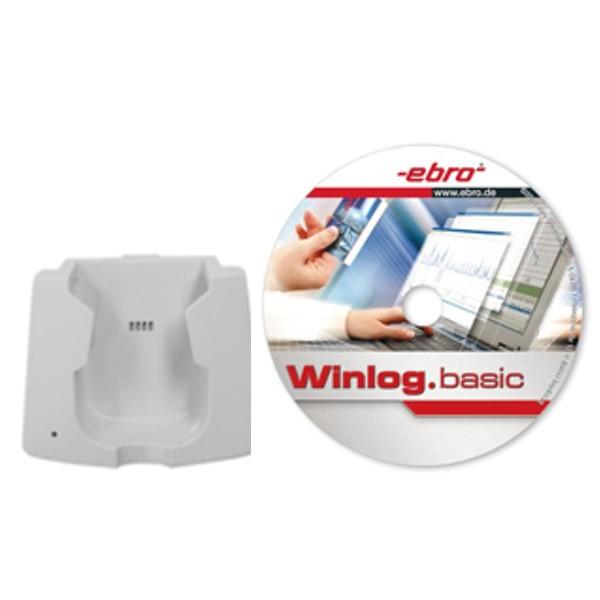 Interfase con cable USB y software de gestón