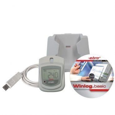 Registrador de temperatura con Certificado de Calibación